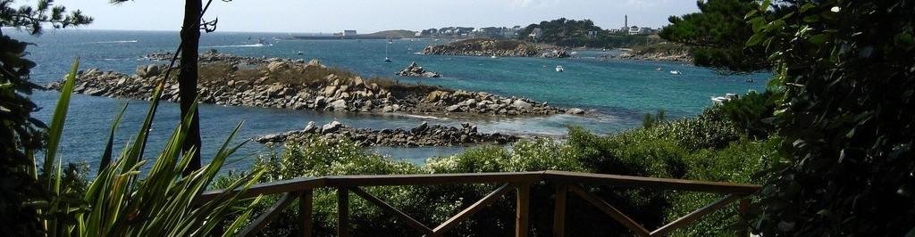 Le superbe jardin exotique de l'île de Batz en Finistère