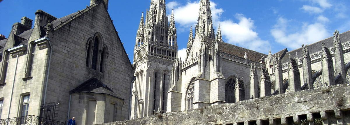 La cathédrale Saint Corentin à Quimper