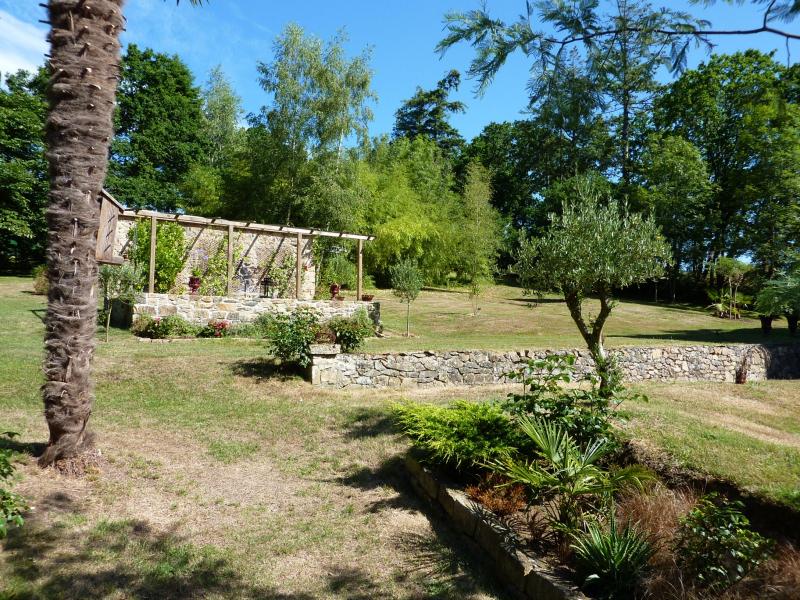 Climat de sud Finistère pour notre jardin d'hôtes de charme