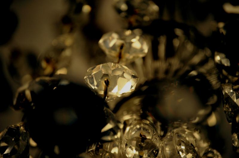 Chambres d'hôtes de luxe avec cristal et pampilles